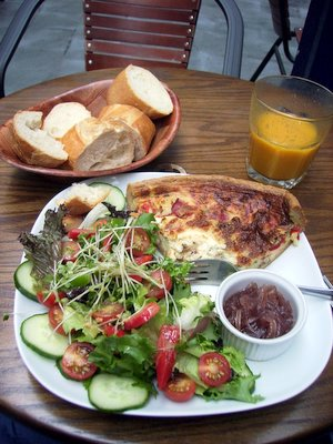 Madame Cafe Meal Cardiff