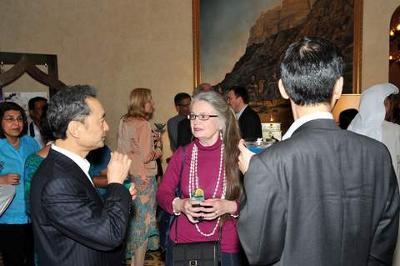 Kari Chats with Mikmoto President