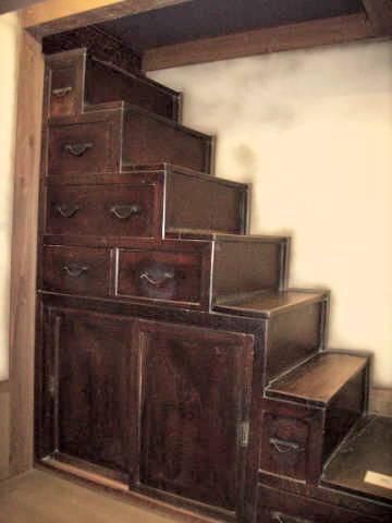 Mikimoto Tansu Stairs