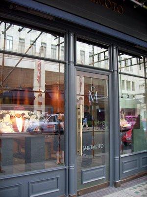 Mikimoto Store Front London