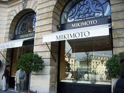 Mikimoto Storefront Paris