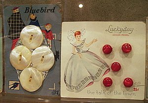 Pearl Button Museum Pearl Buttons.