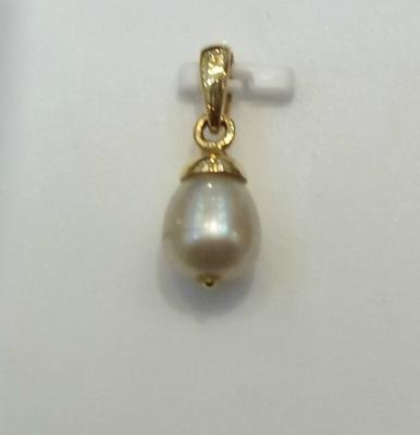 Natural Basra Pearl Drop Pendant