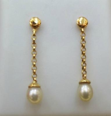 Natural Basra Pearl Earrings
