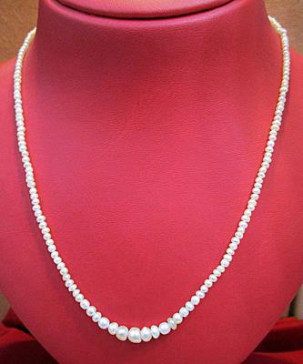 Natural Basra Pearl Necklace 30 carats