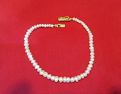 Natural Basra Pearls Bracelet