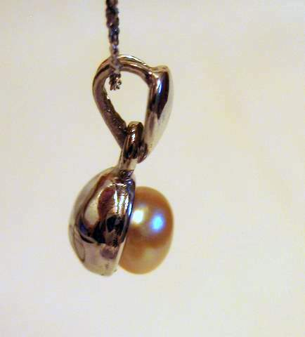 Oriental pearl necklace pendant