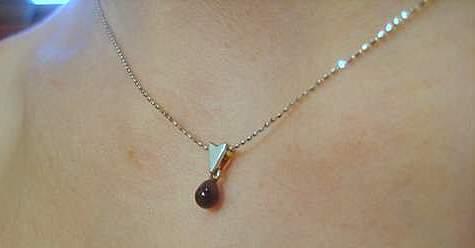 Natural Black Pearl Pendant