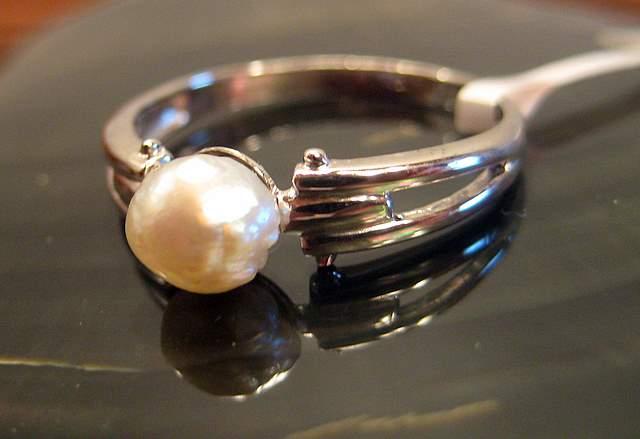 Natural Pearl Ring