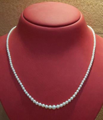 Natural Pearl Necklace at 33.55 Carat