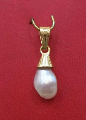 Natural Pearl Pendant - Basra Pearl