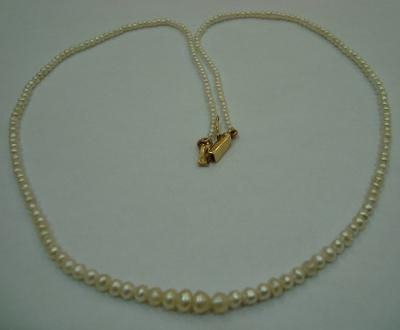 Natural Pearl Necklace Strand
