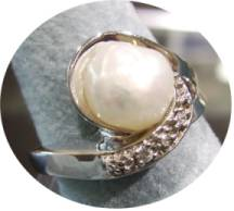 Natural Tennessee River Pearl