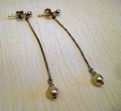 Oriental Pearl Earrings