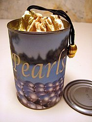 Can of pearls
