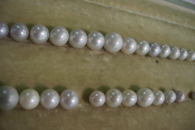 Natural Scottish Pearl Necklace will Never Be Finished