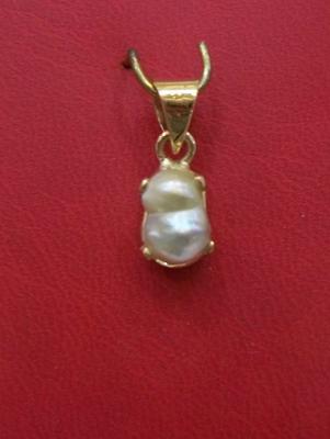 Pearl Pendant with Natural Basra Pearl