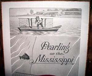 Pearling on the Mississippi River.