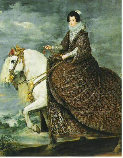Queen Isabel on Horseback