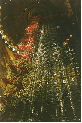 Scaffolding Hagia Sophia Istanbul