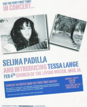 Selina and Tessa in Concert