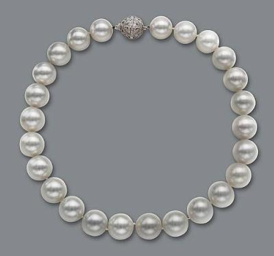Fine South Sea Pearl Necklace