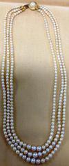 Antique Basra Pearl Necklace 170 Carats