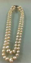 Rare Antique Natural Basra Pearl Necklace