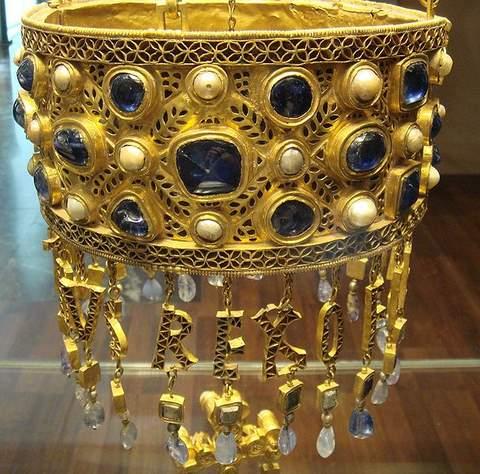 Votive Crown of Visigoth King Reccesuinth