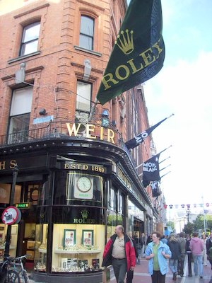 Weir and Sons Dublin Rolex Flag