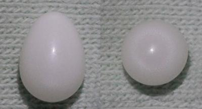 White Clam Pearl 2 ct.