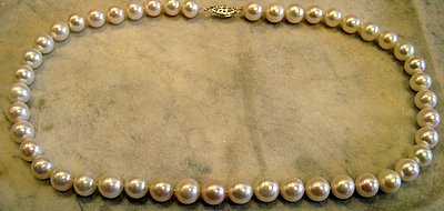 White Freshwater Cultured Pearls