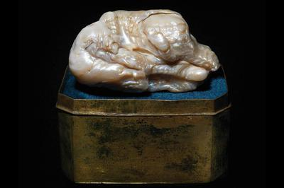 The Sleeping Lion pearl. Gemmological Association of Great Britain handout photo