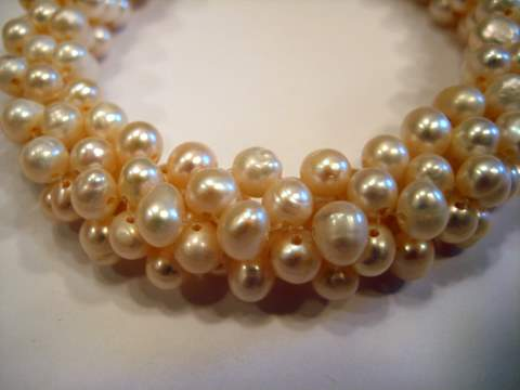 Woven pearls for sale