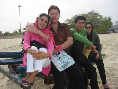 Young Couples on Kish Island